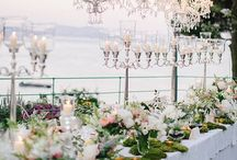 Ali & Zach 31st Agust 2013, La Cervara, Portofino / Great Gatsby Wedding. Design: Chic Wedding in Italy. Flower Decor: La Rosa Canina FIRENZE  / by La Rosa Canina FIRENZE