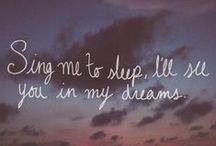 Sleep Quotes / Inspirational Quotes about Sleep and Sleeping!
