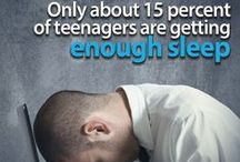 Sleepy Teenagers / If you have a teenager, you know how stressed their lives are. All that contributes to more stress when their sleep is effected. This board is focused to providing content related to sleep and teenagers and how better sleep can help a teenager's quality of life during their teen years with better stress management and better overall health.