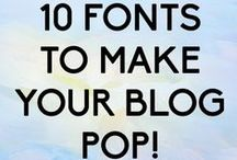B L O G .  D E S I G N S / Inspiring blog designs