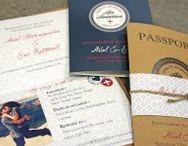 Destination Invitations / Travel inspired invitations