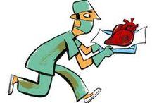 Cardiologie / Ouvrages sur le thème de la cardiologie pour les étudiants et les professionnels.