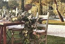 28 June 2014 / 28 june 2014 Venue: Conti di San Bonifacio Wedding Design: Chic Weddings in Italy Floral Decor: La Rosa Canina FIRENZE  / by La Rosa Canina FIRENZE