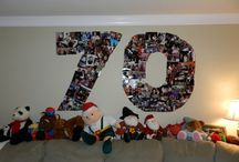 70th birthday / 70th birthday ideas