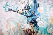 I love Street Art! / best street artists ever! Questa bacheca è per raccogliere idee e ispirazione, condividila con chi vuoi tu. Ciao!