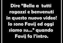 Favij / Molto più di uno youtuber, il mio idolo. (bacheca in italiano)
