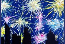 Uusi vuosi-askartelu / new year