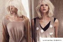 Liviana Conti / Liviana Conti é a senhora italiana do Inventive Knitting. Seu estilo é um sofisticado minimalismo; o cult  desta época. A marca, fundada em 1982, tem o total look como assinatura e é sinônimo de qualidade.