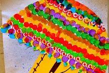 Syksyaskartelu / -kuvis / autum crafts