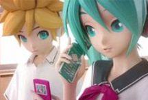 Vocaloids stuff / VOCALOID IS NOT ANIME!      Here you'll find some Vocaloids stuff, mostly LenxMiku. :D