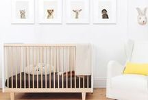 Oeuf Rhea Collection / The Rhea crib is a modern twist of the Robin crib, offering a sleek look and high quality construction. Made from sustainably sourced wood, and finished with non-toxic, water-born coatings & paint, this crib promotes a healthy sleep environment.