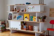 Oeuf Toddler & Kids Storage / Oeuf offers eco-friendly, stylish and practical storage options for childrens rooms.