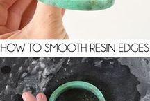 Resin tutorial - ideas / Resin tutorial - jewels ideas