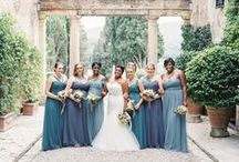 W & S Intimate Wedding in Tuscany / Florals: La Rosa Canina