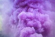 purple. / The color purple relates to the imagination and spirituality. It stimulates the imagination and inspires high ideals. It is an introspective color, allowing us to get in touch with our deeper thoughts.