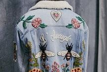 Handpainted Denim / A new board for my inspiration, soon new handpainted jeans jacket are coming at my Etsy Shop!  #jeans #fashion #handpainted #cool #boho #rock #roses #women #original #ooak