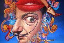 Love Salvador Dali .