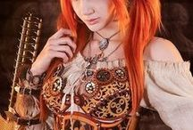 Costumes, cosplays & Steampunk / Mostly very beautiful women. And other stuff...