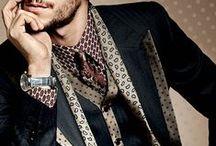 mannen en hun stijl / tips en combi  / by kleurinfo