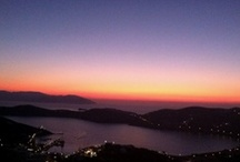 Ios' Sunset / Enjoy the magnificent colors of the sun while is setting down.. #colors #Greece #summer