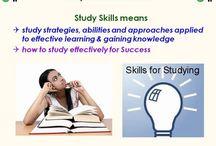 Leren leren / study skills / kijk ook op het bord Organizational Tips