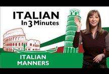 Leer Italiaans / learn Italian