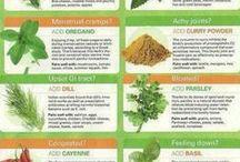 Kruiden en specerijen- goed voor je gezondheid! / herbs / Herbs that heal!