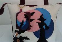 borse in feltro / Da sempre ho avutouna grande passione per le borse e così ho cominciato a realizzarle personalmente. Adoro il feltro e adoro realizzare borse e accessori in feltro fatti tutti rigorosamente a mano.