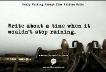 Schrijven: writing prompts