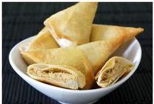 Bricks et samoussas au Kiri ! / Des recettes gourmandes que tout le monde aime, les petites bricks et autres samoussa au fromage Kiri vont faire fondre de plaisir petits et grands, à l'apéro ou en entrée :)