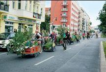 Tuin op wielen / De mobiele tuin neem je gewoon mee!