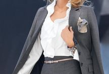 Work Fashion / Work Outfits and ideas of things to wear professionally