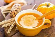 Petites soupes Kiri ! / Découvrez de délicieuses #recettes de soupes & veloutés #kiri : courgettes, potimarron, potiron... pour se réchauffer tout en se régalant !