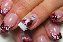 Christmas nail art / Christmas nail art