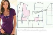 DIY Tops & blouses / Some shirts also on bord sewing adults