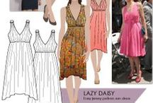 DIY Dresses / Free pattern, and to buy.
