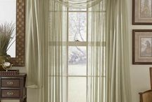 Window Dressings / Curtain and blind ideas