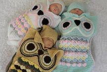Baby stuff crochet / Breien en haken. Ideeen voor eigen baby ding zelf maken