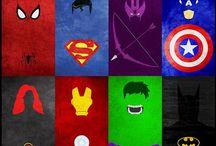 Superheroes⚡️ / Powerfull people/ superheroes. Marvel and DC. Superman, Batman, Captain America, Hulk, Iron Man, The Green Latern, Arrow, Flash, Captain Jack Harkness etc.