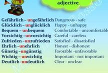 Adjektive, Adverbien