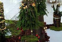 Weihnachtsbäume aller Art