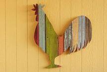 wooden wall art / scrap wood, reclaimed wood, geometric shapes, salvage wood art, wood wall hangings