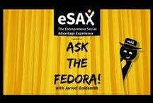 Ask the Fedora Blog / eSAX Blog Posts | Advice for entrepreneurs with small businesses. #Networking #TipsAndTricks