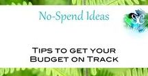 No-Spend Ideas / There's plenty of ways to get what you need without spending money. Check out these no-spend, minimalist tips for ideas!  Message me or email me at everchangeproductions@gmail.com to join the board!