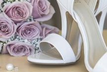 The Shoes   Wedding / A combination of my own photos and others for wedding inspiration: wedding shoes, high heel shoes, beach & garden flats, white shoes
