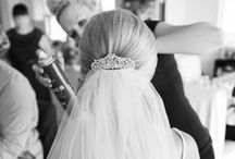 The Hair   Wedding / A combination of my own photos and others for wedding inspiration: bridal hairstyles, long & short hair styling ideas, hair pins, hair piece decorations