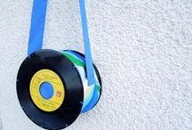 Vintage records recycle / Ideas for recycling old vinyl records