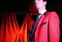 Leo Fishhead On The Stage