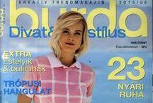 My Burda magazines