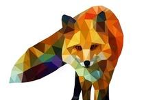 Ménagerie Arty / Art, graphisme, animaux, illustration